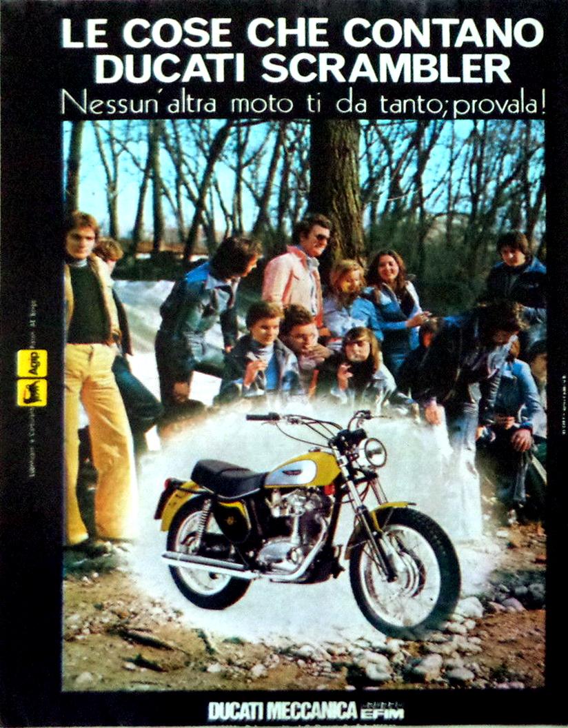 Ducati scrambler 125 250 350 450 desmo
