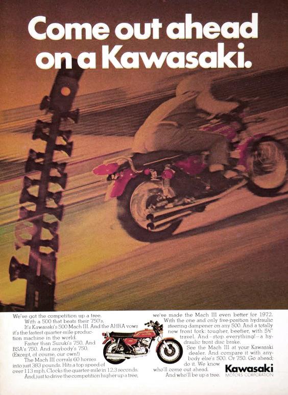 kawasaki mach 3 advertising